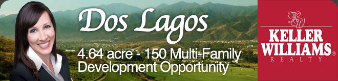Dos Lagos 4.64 Acre Multi-Family Development Opportunity
